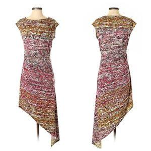 BCBGMAXAZRIA Asymmetrical Casual Dress